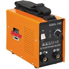 Machines and the equipment for arc welding metal