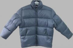 男装填棉夹克