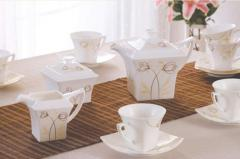 Tea sets, coffee