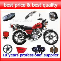 GN125 motorcycle spare parts ,body parts and