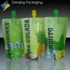Plastic Packaging Stand up pouch with center spout