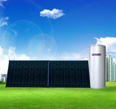 城市丽阳R强制循环阳台壁挂式平板太阳能热水器
