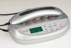 Thermo therapeutic massager stimulator