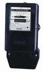 Electricity supply meters, three-phase,