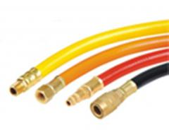 Hoses for pneumatic brake systems