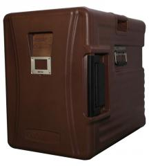 食品保温柜,可装载6个65mm浅份盘,保温时间长达10小时,带侧把手,带滑轮