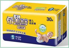 干爽特柔系列 婴儿纸尿裤 S号
