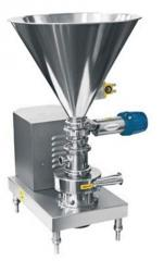 Mixers for the mixing of liquid products