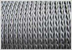 Perforated metal angle with mesh
