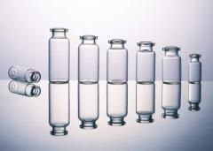 Glass products medical