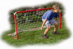 Goal nets for minisoccer, handball