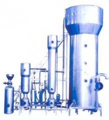 三塔式流动床离子交换器