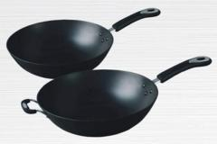 Pans made of cast iron