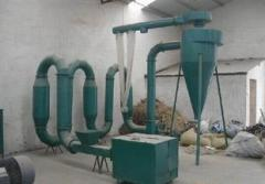 Boiling bed drier for ore mining and processing