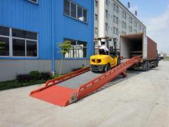 Hydraulic mobile ramp CE
