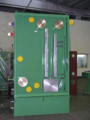 Copper wire drawing machine annealer
