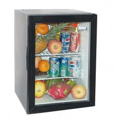 Open-frame refrigerators for embedding in
