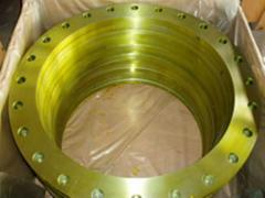 Flanges for pipes