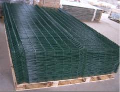 Welding interlocking panels