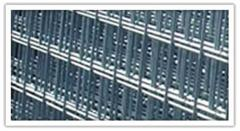 Welded fence mesh