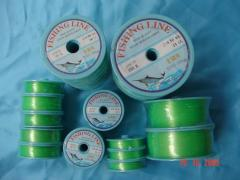 Monofilament fishing