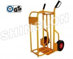 Carts, cargo, for gas tanks