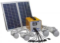 太阳能家用系统 12AH直流光伏发电系统