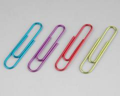 Writing paper clips