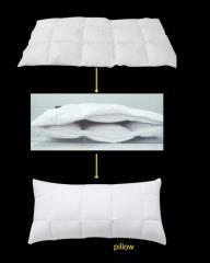 化纤羽绒枕头