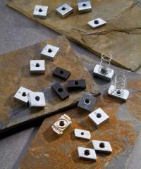 Square screw nuts