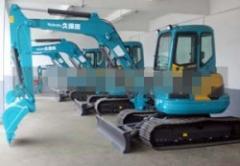 久保田挖掘机底盘件-引导轮-驱动轮-支重轮-拖链轮-链板