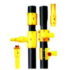 Polyethylene gas pipes