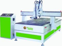 Lines automatic with CNC for drilling and marking
