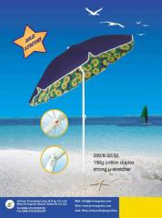 150G cotton duplex U-stretcher umbrella