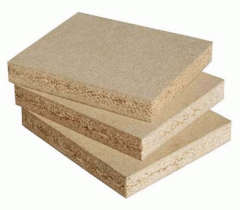 Water-resistant chipboard