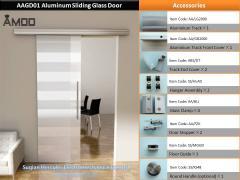 ### A ### AGD01 Aluminum Sliding Glass Door