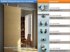 ### S ### SWD02 Stainless Steel Sliding Wood Door