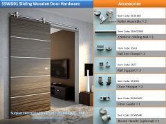 ### S ### SWD01 Stainless Steel Sliding Wood Door