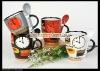 11oz ceramic mug with spoon