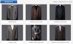 OEM orders of mens suits jackets trousers vests