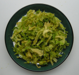Dehydrated Cabbage