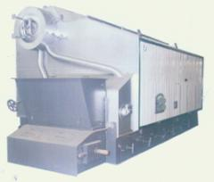 Steam boilers of low pressure