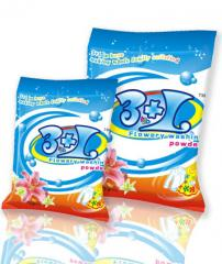 3+1 Bagged washing powder