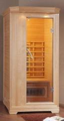 Cedar mini-saunas