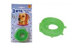 Collars protecting from fleas, tongs and gnats