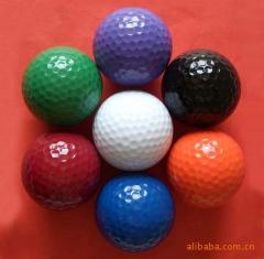 彩色高尔夫球