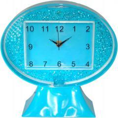 Clock made of light emitting diodes