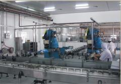 Mechanised plants for producing preserved fish and