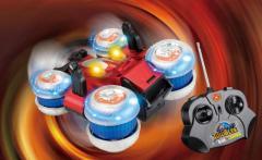 Toys with radio control