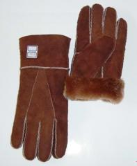 Products made of sheepskin